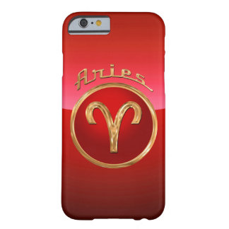 Aries Zodiac Symbol Barely There iPhone 6 Case