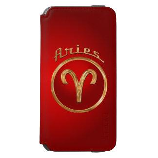 Aries Zodiac Symbol Incipio Watson™ iPhone 6 Wallet Case