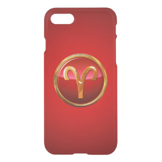 Aries Zodiac Symbol iPhone 7 Case