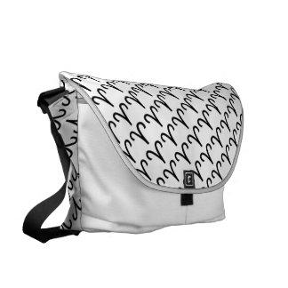Aries Zodiac Symbol Standard Messenger Bag