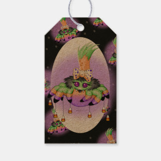 ARIETTE HALLOWEEN CARTOON GIFT TAG KRAFT