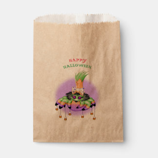 ARIETTE HALLOWEEN SPIDER  bag Kraft Favor Favour Bags