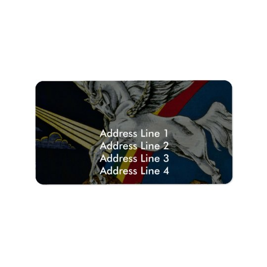 Arion Picture Address Label