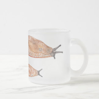 "Arion rufus ""red"" phase - watercolor mug"
