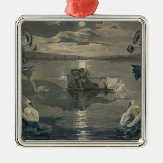 Arion's Sea Journey, 1809 Christmas Ornament