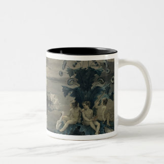 Arion's Sea Journey, 1809 Two-Tone Coffee Mug