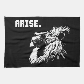 ARISE - Lion Motivational Tea Towel