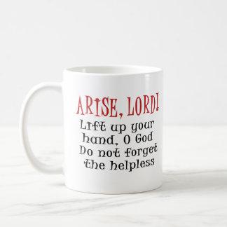 Arise, Lord Classic White Coffee Mug