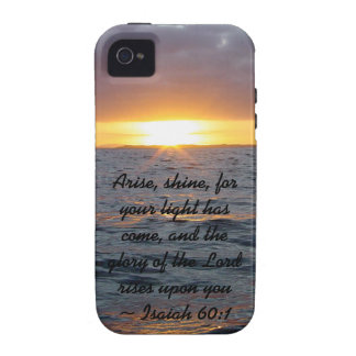 Arise Shine - Isaiah 60 1 iPhone 4/4S Covers