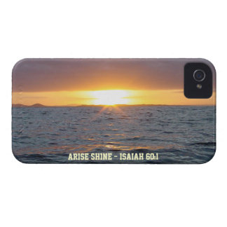 Arise Shine - Isaiah 60:1 iPhone 4 Cases