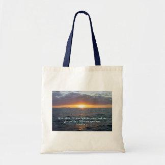 Arise Shine - Isaiah 60:1 Canvas Bag