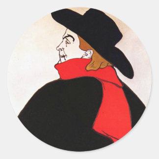 Aristide Bruant dans son Cabaret Round Stickers