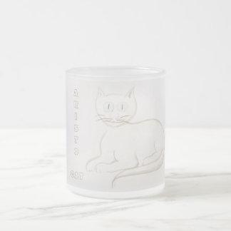 Aristo Cat Frosted Mug
