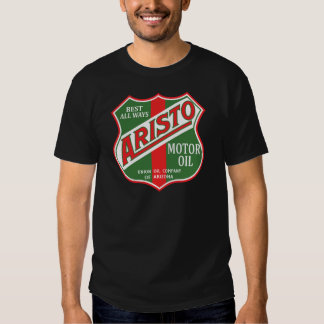Aristo motor oil vintage sign reproduction t shirts