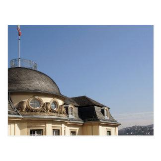 Aristocracy palace - mansion Gemmingen Postcard