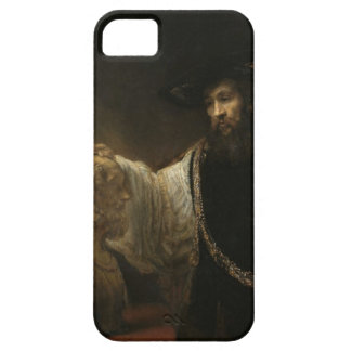 Aristotle (384-322 BC) with a Bust of Homer Barely There iPhone 5 Case