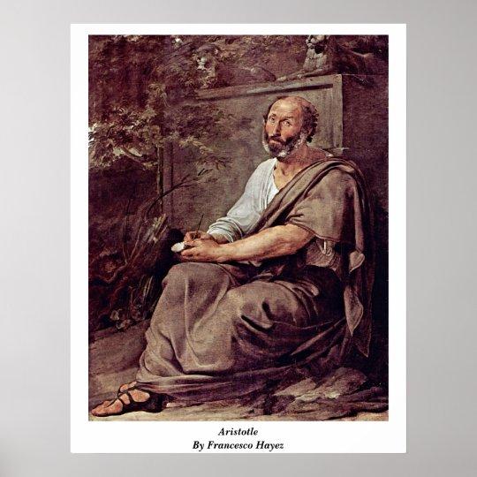 Aristotle By Francesco Hayez Poster