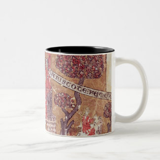 Aristotle instructs Alexander the Great in Two-Tone Coffee Mug
