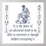 Aristotle Print