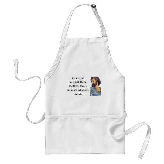 Aristotle Quote 4b Standard Apron