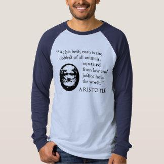Aristotle shirt with reverse design. Philosophy