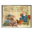 Aristotle teaching postcard