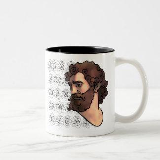 Aristotle Two-Tone Mug
