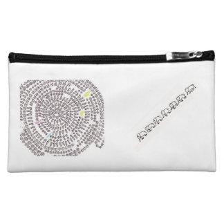 Arithmetic Mandara make-up porch of rainbow color Cosmetic Bags