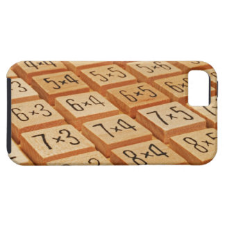 Arithmetic. Multiplication times table wooden Case For The iPhone 5