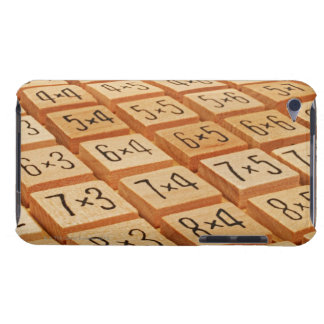 Arithmetic. Multiplication times table wooden iPod Case-Mate Case