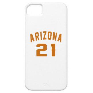 Arizona 21 Birthday Designs Barely There iPhone 5 Case