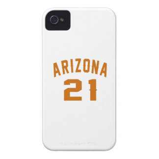 Arizona 21 Birthday Designs iPhone 4 Case