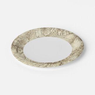 Arizona 3 paper plate