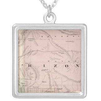Arizona 3 silver plated necklace