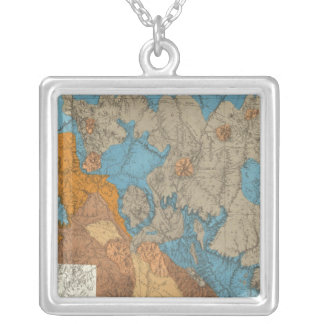 Arizona 5 silver plated necklace