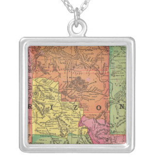 Arizona 6 silver plated necklace