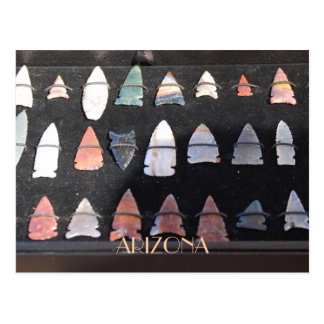 Arizona Arrowheads Postcard