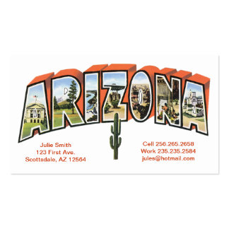 Arizona Double-Sided Standard Business Cards (Pack Of 100)