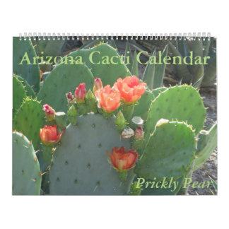 Arizona Cacti Calendar