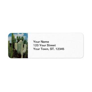 Arizona Cactus Return Address Label