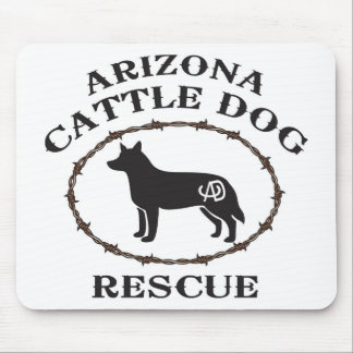 Arizona Cattle Dog Rescue Mouse Mat