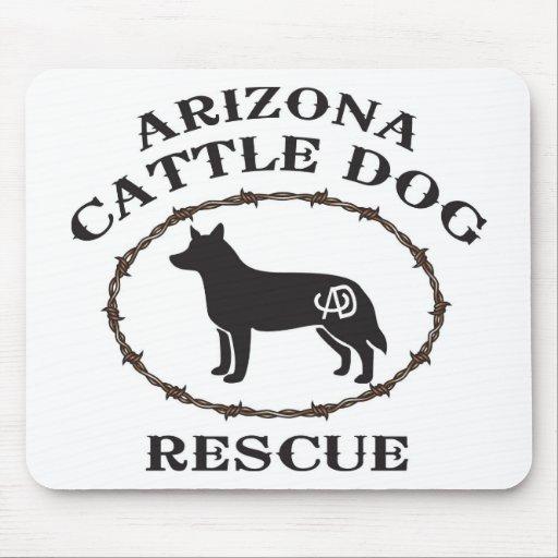 Arizona Cattle Dog Rescue Mousepads