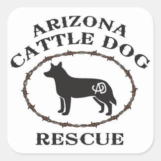 Arizona Cattle Dog Rescue Square Sticker