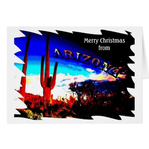 Arizona Christmas Card