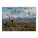 Arizona Christmas Greeting Card