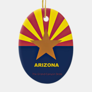 Arizona Christmas Ornament