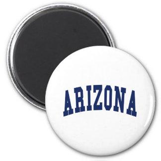 Arizona College 6 Cm Round Magnet