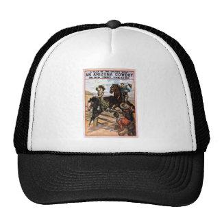 Arizona Cowboy in Big Tent Theater Mesh Hats