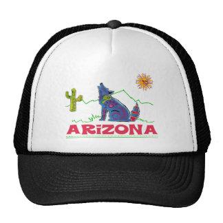 Arizona Coyote Howl Mesh Hats