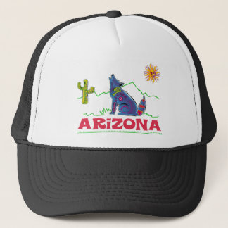 Arizona Coyote Howl Trucker Hat